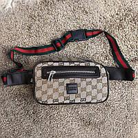 Gucci Belt Bag GG Supreme Beige, фото 1