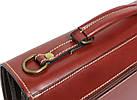 Чоловічий портфель з якісної натуральної шкіри Rovicky AWR-2-1 коричневий, фото 5