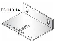 Кронштейн несущий алюминиевый 100х140х40