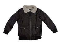 Куртки кожзам на меху для мальчиков оптом, размеры 134/140-170,  Glo-story, арт. ВPY-4424, фото 1