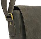 Кожаная сумка-плантешка Always Wild С48.0163 коричневая, фото 5