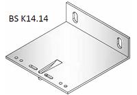 Алюминиевые фасадные кронштейны 140х140х40