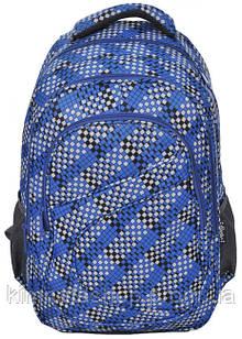 Яркий молодежный рюкзак PASO 21L 15-8115C синий