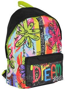 Красочный молодежный рюкзак 15 л. Paso BDC-A220