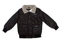 Куртки кожзам на меху для мальчиков оптом, размеры 92-122/128  Glo-story, арт. ВPY-4425, фото 1