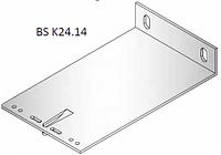 Кронштейн несущий алюминиевый  240х140х40