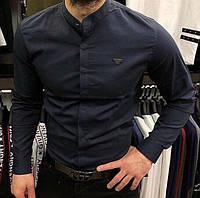 Мужская рубашка Рубашка Armani ЛЮКС КАЧЕСТВО!!! 100% хлопок  Очень дорого смотрится!  Размеры: S-3XL, фото 1
