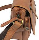Мужская кожаная сумка Always Wild 5047-1-CBH COGNAC, коричневый 16х15х8 см., фото 9