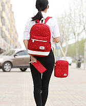 Відмінний набір Рюкзак барсетка, гаманець, фото 2