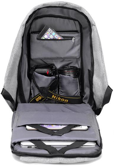 Рюкзак Bobby внутри