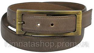 Женский кожаный ремень под джинсы Vanzetti, Германия, 100089 коричневый, 3х107 см