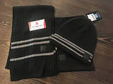 Набор из шапки и шарфа Mercedes-Benz Hat and Scarf Set, Anthracite B67870898, фото 10