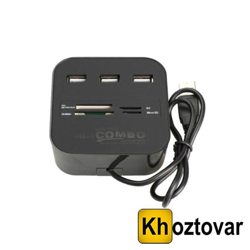 Адаптер C329 USB HUB