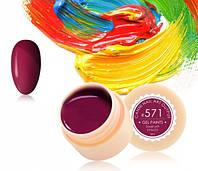 Гель-краска Canni 571 темно-вишневая