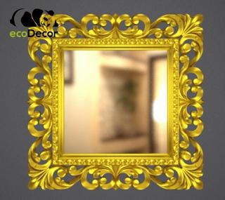 Зеркало настенное Ababa в золотой раме