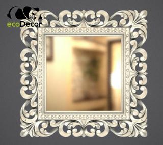 Зеркало настенное Ababa в серебрянойй раме