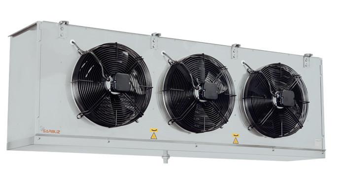 Воздухоохладитель SBE-102-345-GS-LT (повітроохолоджувач)