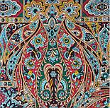 Рождественский пряник 1805-12, павлопосадский платок шерстяной (двуниточная шерсть) с шелковой бахромой, фото 6