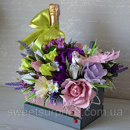 """Вкусный букет для сестры """"С Днем рождения"""", фото 2"""