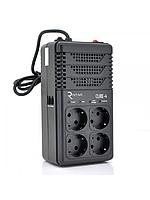 Стабилизатор напряжения релейный RITAR CUBE-4 800VA 480W 4SHUKO, Q12 (278*98*123) 2кг (215*115*90)