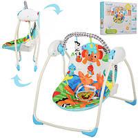 Кресло качалка детская Bambi M 3241 Сафари