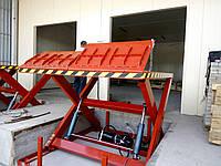 Подъемник ножничный Docker гидравлический 2500х1800мм, ход 2м