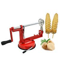 Машинка для різання картоплі спіраллю Spiral Potato Chips