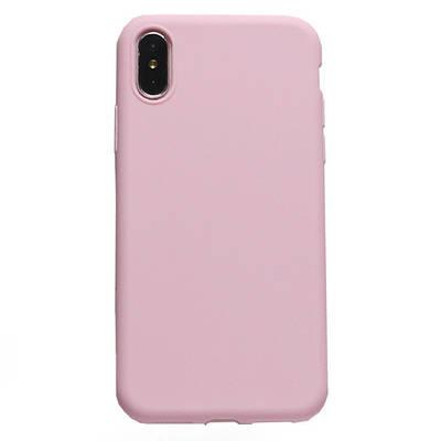 Чехол накладка xCase на iPhone 5/5s/SE Сandy розовый
