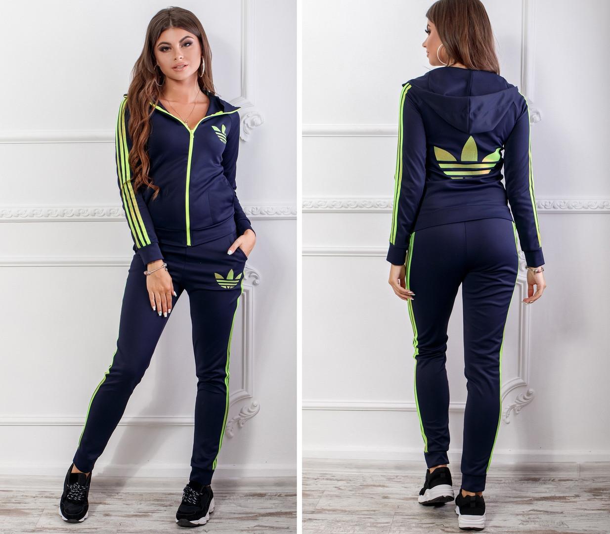 cab0b42325c Женский спортивный костюм с лампасами. Кофта с капюшоном и штанами -  Интернет-магазин одежды