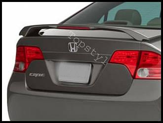 Спойлер на багажник тюнинг Honda Civic