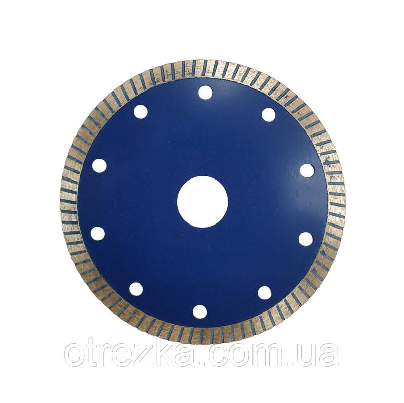 Алмазный диск турбо для резки керамогранита 125 мм.
