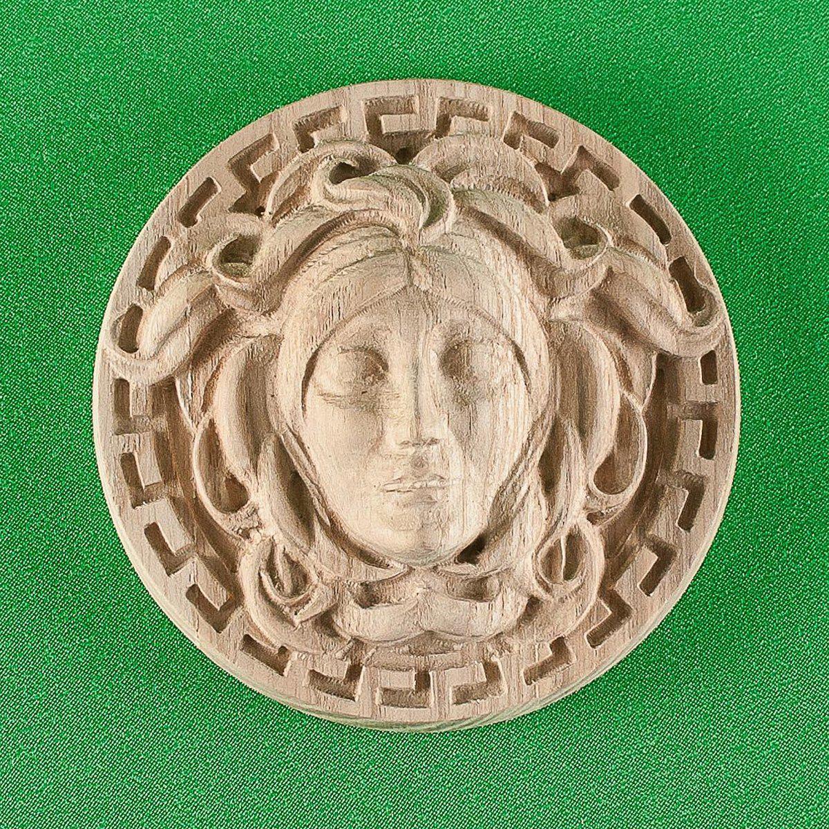 Код Р11. Деревянный резной декор для мебели. Розетки