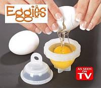 Набор контейнеров для варки яиц без скорлупы из 6 шт Eggies - ОПТ