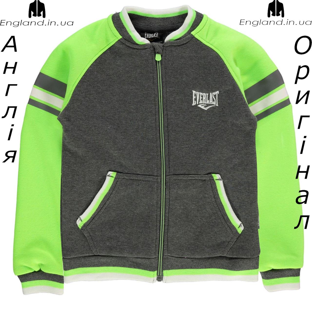 Куртка Everlast из Англии для мальчиков 2-14 лет - коричневая
