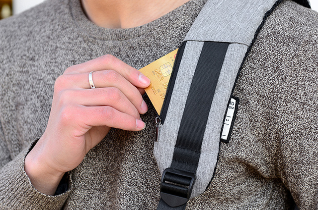 Рюкзак Bobby с потайным карманчиком