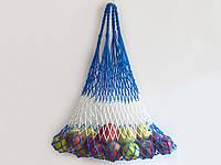 Авоська - CORD Bag - Полосатая сумка - Прочная большая сумка - Сумка для покупок - Эко сумка