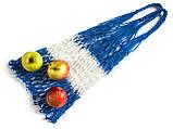 Авоська - CORD Bag - Полосатая сумка - Прочная большая сумка - Сумка для покупок - Эко сумка, фото 2