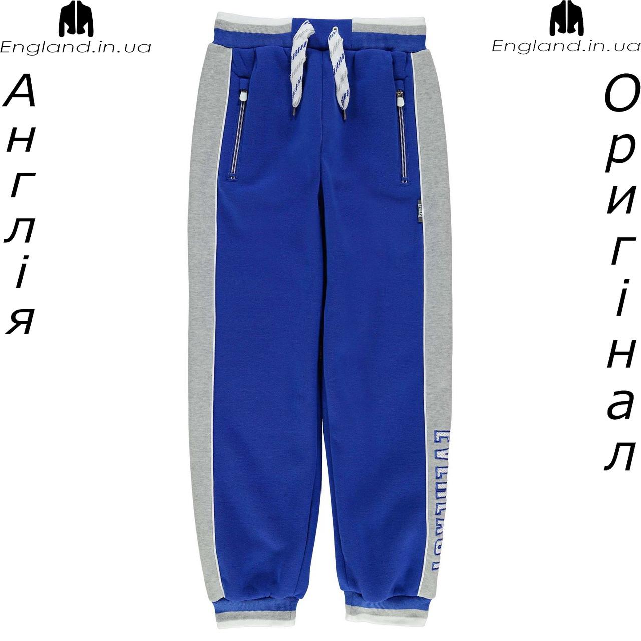 Брюки Everlast из Англии для мальчиков 2-14 лет - для тренеровок синие