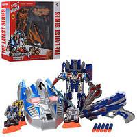 Набор с оружием 60-47-12,5см  Transformers маска,пистолет,мягкие пули