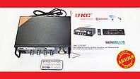 Усилитель звука UKC SN-555BT FM USB Блютуз + Караоке, фото 1