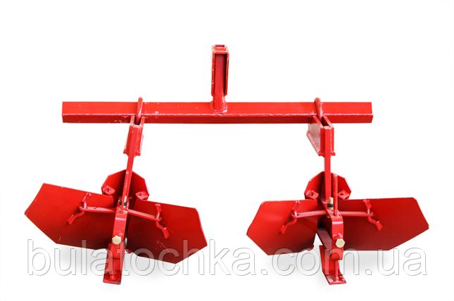 Окучник Мотор Сич (двойная сцепка + окучник стреловидный) Мотор Сич, фото 2