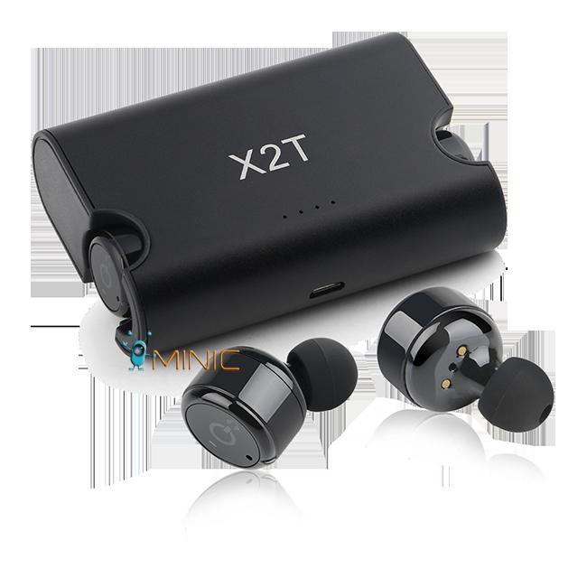 беспроводные Bluetooth наушники гарнитура Mini X2t Wireless Double