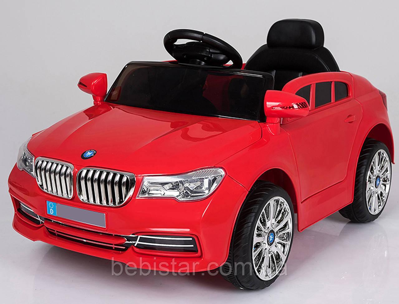 Електромобіль-спорткар червоний XM-826 RED для дітей 3-8 років з пультом, акумулятор 2*6V4.5AH, мотор 2*25W