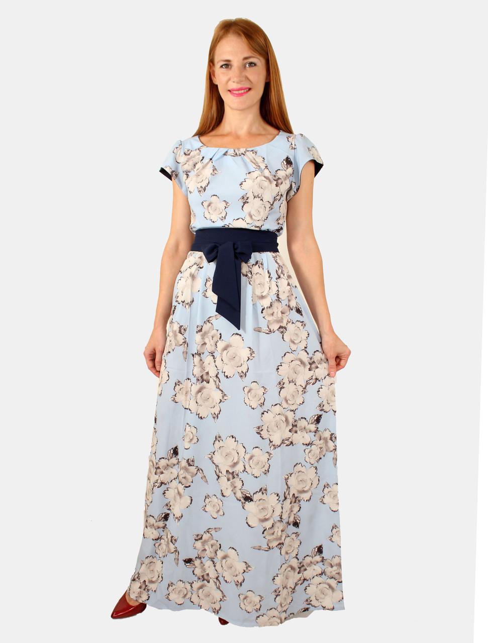 Летнее женское платье макси 44 и 48 р ( разные цвета )