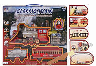 Железная дорога Best Classic Train свет звук дым 13 деталей