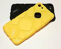 Чехол для iPhone 7 оригинальная резиновая противоударная накладка iFace (рисунок протектор) желтый