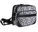 Мужская сумка из кожзаменителя 301566 серый, фото 2