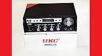 Усилитель звука UKC SN-555BT FM USB Bluetooth + Караоке , фото 1