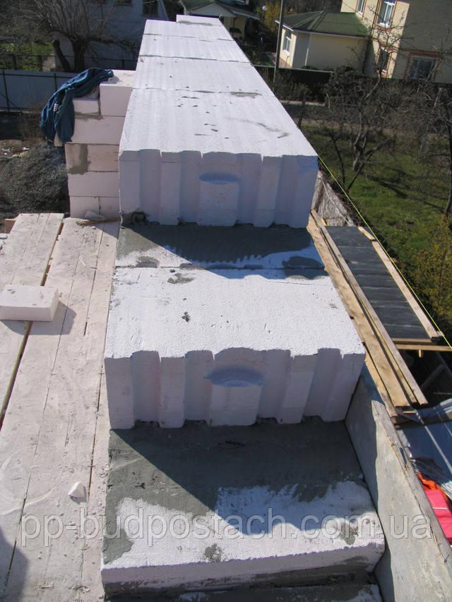 Технология укладки газобетонных блоков