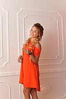 Платье арт. 785 коралловое